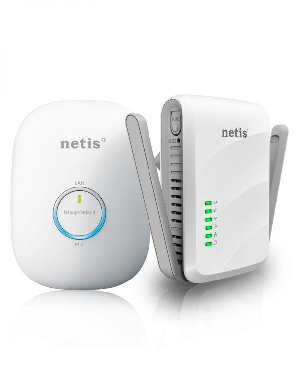 PL7622 KIT 300Mbps wireless powerline Netis